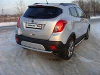 Защита задняя центральная 50,8 мм на Opel Mokka (2012 -) ТСС OPMOK4WDT12-06