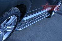Пороги с листом d42 на Peugeot 4007 (2007 -) СОЮЗ-96 PEUG.82.0642