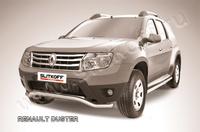 """Защита переднего d57 бампера """"волна"""" для Renault Duster (2011 -) Слиткофф RD001"""