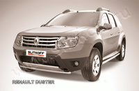 Защита переднего бампера d42 для Renault Duster (2011 -) Слиткофф RD005