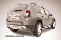 """Защита заднего бампера d57 """"скоба"""" для Renault Duster (2011 -) Слиткофф RD008"""