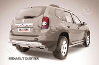 Защита заднего бампера d42 для Renault Duster (2011 -) Слиткофф RD010