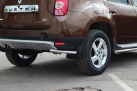 "Защита задняя ""уголки"" d42 на Renault Duster 4x4 (2011 -) СОЮЗ-96 RDUS.76.1446"