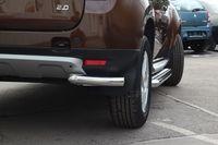 "Защита задняя ""уголки"" d60 на Renault Duster 4x4 (2011 -) СОЮЗ-96 RDUS.76.1447"