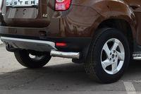 "Защита задняя ""уголки"" d76 на Renault Duster 4x4 (2011 -) СОЮЗ-96 RDUS.76.1448"