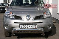 Решетка передняя мини d60 низкая с накладной надписью на Renault Koleos (2008 -) СОЮЗ-96 RENK.56.0725