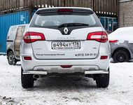 Защита задняя уголки d60 на Renault Koleos (2012 -) СОЮЗ-96 RENK.76.1596