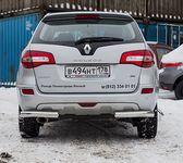 Защита задняя уголки d76 на Renault Koleos (2012 -) СОЮЗ-96 RENK.76.1597