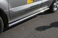 """Пороги """"труба"""" d60 на Renault Koleos (2008 -) СОЮЗ-96 RENK.80.0732"""