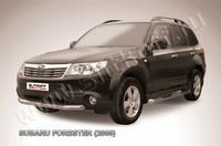 Защита переднего бампера d76 для Subaru Forester (2008 -) Слиткофф SF010