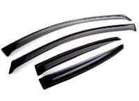 Дефлекторы окон для Ford Focus 2 Седан (2005 - 2011) SIM Dark SFOFO20532-SD