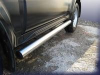 Пороги d76 труба для Suzuki Jimny (1998 -) Слиткофф SJ006