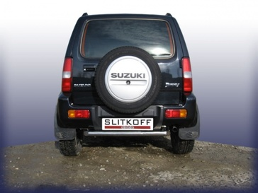 Защита заднего бампера d57 для Suzuki Jimny (1998 -) Слиткофф SJ009