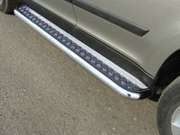 Пороги с площадкой 60,3 мм для Skoda Yeti (2014 -) ТСС SKOYET14-06