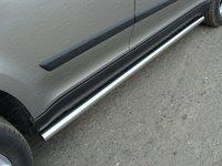 Пороги труба 60,3 мм для Skoda Yeti (2014 -) ТСС SKOYET14-10