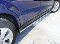 """Пороги """"труба"""" 50,8 мм на Subaru Outback (2010 -) ТСС SUBOUT10-02"""