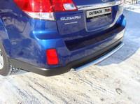Защита задняя (центральная) 50,8 мм на Subaru Outback (2010 -) ТСС SUBOUT10-04