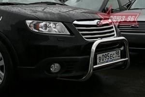 Решетка передняя мини d 60 низкая для Subaru Tribeca (2007 -) СОЮЗ-96 SUTR.56.0650