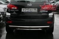 Защита задняя двойная d60/60 для Subaru Tribeca (2007 -) СОЮЗ-96 SUTR.75.0654