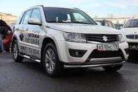 "Защита переднего бампера ""труба"" d60 Premium на Suzuki Grand Vitara 5D (2012 -) СОЮЗ-96 SZGV.48.1600"