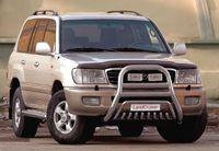 Решетка передняя мини d76 (76) на Toyota LC 100 (1998 - 2007) СОЮЗ-96 TC10.55.0027