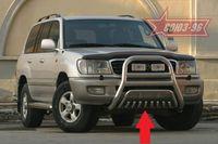 Защита нижняя на Toyota LC 100 (1998 - 2007) СОЮЗ-96 TC10.59.0016