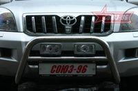Решетка передняя мини d60 на Toyota LC 120 Prado (2002 -) СОЮЗ-96 TC12.56.0028