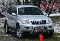 Защита нижняя (устанавливается с TC12.56.0108) на Toyota LC 120 Prado (2002 -) СОЮЗ-96 TC12.59.0109