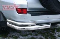 """Защита задняя """"левый уголок"""" d76 на Toyota LC 120 Prado (2002 -) СОЮЗ-96 TC12.76.0042Left"""