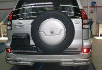 "Защита задняя ""уголки"" d76 на Toyota LC 120 Prado (2002 -) СОЮЗ-96 TC12.76.0042"
