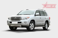 Защита переднего бампера труба d100 для Toyota Land Cruiser 200 (2013 -) СОЮЗ-96 TC20.48.1457 (Эксклюзив TMR)