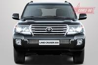 Декоративные элементы на воздухозаборник d 10 для Toyota Land Cruiser 200 (2013 -) СОЮЗ-96 TC20.97.2310 (Эксклюзив TMR)
