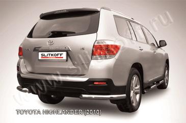Уголки d57 для Toyota Highlander (2010 -) Слиткофф THI016