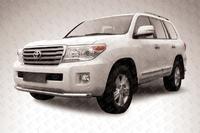 Защита переднего бампера d76 для Toyota Land Cruiser 200 (2012 -) Слиткофф TLC2-12-005