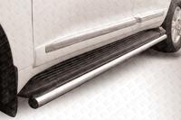 Защита штатного порога d57 для Toyota Land Cruiser 200 (2012 -) Слиткофф TLC2-12-016
