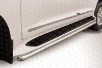 Защита штатного порога d57 для Toyota Land Cruiser 200 (2013 -) Слиткофф TLC2-13-013