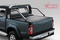 Рама в кузов шалаш ( двойная поперечная дуга ) для Toyota Hilux (2011 -) СОЮЗ-96 TOHX.39.0935 (Эксклюзив TMR)