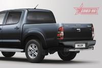 Защита задняя ступень d 76 для Toyota Hilux (2011 -) СОЮЗ-96 TOHX.75.0933 (Эксклюзив TMR)
