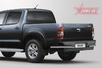 Защита задняя уголки d 60 для Toyota Hilux (2011 -) СОЮЗ-96 TOHX.76.0929 (Эксклюзив TMR)
