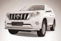 Защита переднего бампера d76 для Toyota Land Cruiser Prado 150 (2014 -) Слиткофф TOP14-003