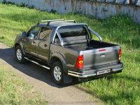 Защита кузова 76,1 мм для Toyota Hilux (2008 -) ТСС TOYHILUX12-09