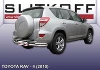 Уголки d76+d42 двойные для Toyota RAV4 (2010 -) Слиткофф TR410-016
