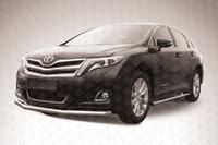 Защита переднего бампера d76 на Toyota Venza (2013 -) Слиткофф TVEN002