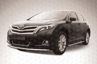 Защита переднего бампера d57 на Toyota Venza (2013 -) Слиткофф TVEN004