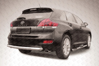 Защита заднего бампера d76 радиусная на Toyota Venza (2013 -) Слиткофф TVEN010