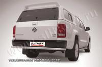 Защита заднего бампера d57 для Volkswagen Amarok (2010 -) Слиткофф VWAM13-012