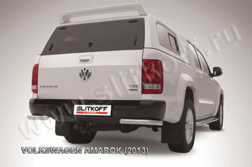 Уголки d57 для Volkswagen Amarok (2010 -) Слиткофф VWAM13-014