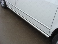 Пороги труба 60,3 мм для Volkswagen Multivan (2013 -) ТСС VWMULT13-07
