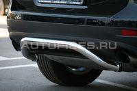 Защита заднего бампера d60 на Volkswagen Touareg (2010 -) СОЮЗ-96 VWTG.75.1193