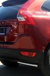 "Защита задняя d42 ""уголки"" для Volvo XC60 (2008 -) СОЮЗ-96 VXC6.76.0844"